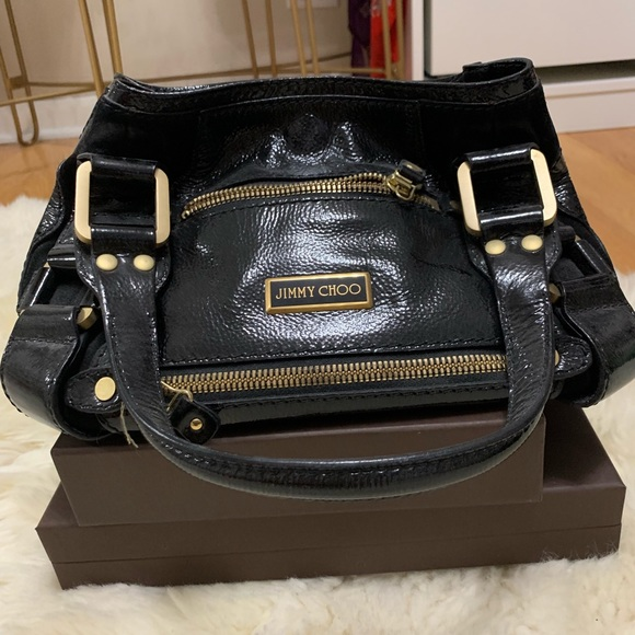 53226905515 Jimmy Choo Bags | Mahala Or Maddy Purse Black Patent | Poshmark
